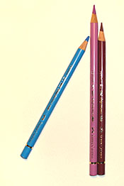 learn to draw with coloured pencils