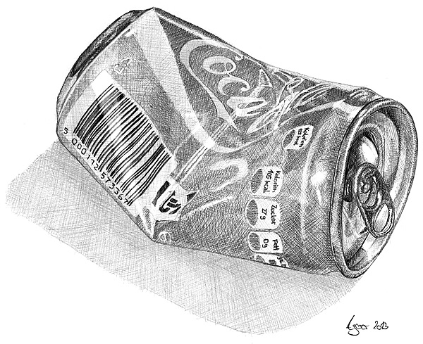 Drawing a can